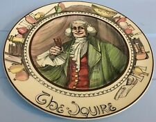 Vintage Royal Doulton The Squire Decorative Display Plate Series Ware D6284