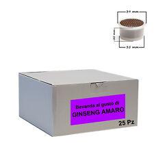 25 capsule Bevanda Ginseng Amaro Cialdeitalia - Comp. Lavazza Espresso Point