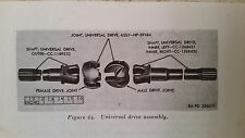 """Dodge Military M37,M43,Front Axle Inner Left Drive Shaft 29-7/8"""" ,cc-1268431"""
