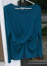 NEW Womens Jennifer Lopez Navy Tank Top M L XL Mesh Sleeveless Shirt SHIPS FAST