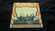 BOB WILLS & HIS TEXAS PLAYBOYS - The King Of Western Swing - Vinyl LP *CR 30223*