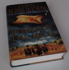 Conn Iggulden: BONES OF THE HILLS  1st Edition Hardcover