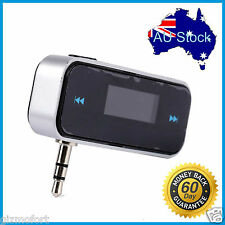 Wireless Car FM Transmitter Handsfree Radio For Apple iPhone 6S 6 Plus 5S 5 iPod