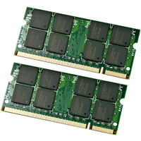 4GB Kit 2x 2GB DDR2 800 MHz PC2-6400 Sodimm Memory for IBM Lenovo HP Dell Laptop