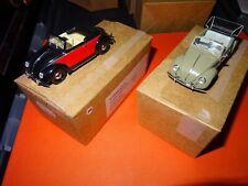 Minichamps 1:43 Metal Models - Set of 2 x Volkswagen Classics in Custom Boxes