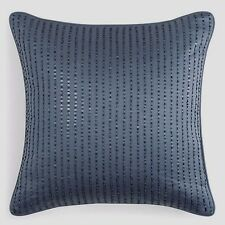 "$140 Hudson Park Windsor Bead & Sequin Blue 16"" Square Decorative Pillow"