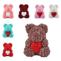 Rose Flower Bear Teddy Bear Luxury Girlfriend Valentine's Day Gift Various  #3YE