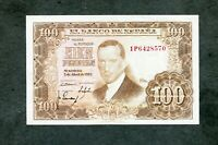 BILLETE 100 PESETAS 1953 serie 1P6428570  SC -