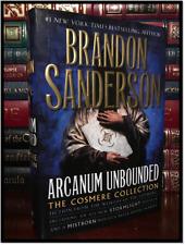 Arcanum Unbounded ✎SIGNED✎ by BRANDON SANDERSON New Hardback 1st Edition & Print