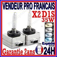 2 AMPOULE XENON D1S HID 35W LAMPE DE REMPLACEMENT ORIGINE POUR PHILIPS XENSTART