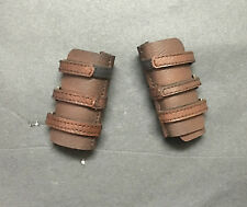 Custom 1/6 Scale Leather Like Male Guantlet For Hot Toys Bane's Body