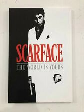 Al Pacino Tony Montana Scarface classic Movie Poster Wall Art Canvas 12x24