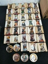 Lot Of 38 Bradford Exchange Edwin M. Knowles Collector Painted Plates