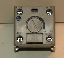Allen Bradley 100-FPT 100-FPTA30 Pneumatic Timing Relay
