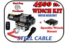 XTREME Winch 4500LB ATV Winch With Model Specifc Mount Fits 2013-18 CAN AM MAVERICK 1000