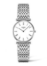Longines L4.512.4.11.6 La Grande Stainless Steel 29mm Swiss Quartz Women's Watch