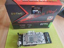 Zotac Nvidia GTX Titan 6GB 6144 MB Wasserkühlung EK Waterblocks Custom Bios TOP