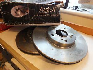 New Aut-X Honda Civic Type R S Integra front brake discs x2 Pair  AXBD1847  DW
