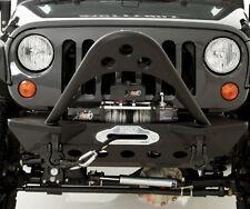 Smittybilt SRC Stinger Front Bumper w/ Winch Plate 07-17 Jeep Wrangler JK 76524