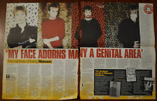 More details for mansun interview cutting from nme 19/12/1998