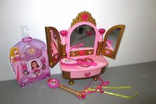 Disney Princess Doll Vanity Lights Sounds New Kids Jewelry    Lot J7