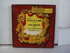 Vg+ Rubinstein Dorati /Grieg Concerto In A Minor Rca Red Vinyl Wdm 134 Box 3X45
