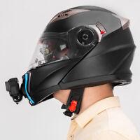KQ_ TELESIN Motorcycle Helmet Camera Bracket Mount for GoPro/XiaoYi/OSMO Action