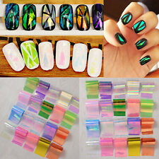 20Pcs/set Starry Sky Foils Nail Art Tips Manicure Glitter Transfer Sticker Paper