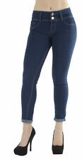 CB9-92664(S) -Butt Lifting, Levanta Cola, Mid Waist Skinny Jeans