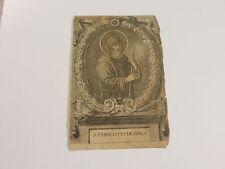 Wallfahrt Gnadenbild S Franciscus De Paula Andachtsbild