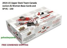 2014-15 14/15 Upper Deck UD Team Canada Juniors Women #1 - 100 SP #101 - 150