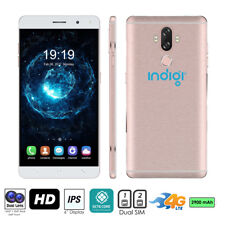 "2016 Indigi M7 UNLOCKED 5.5"" Android 4.4 DualSim 3G Smart Phone AT&T T-Mobile"