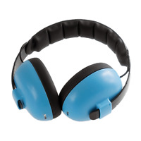 Blue Ear Defenders - Baby 0-3 yrs - Hearing Protection for Shows, Events Crowds