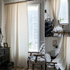 Vintage Lace Curtains Living Room Bedroom Curtain Cotton Window Treatment Drapes