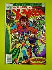 Uncanny X-Men #107 - 1st Appearance of Starjammers, Corsair, Gladiator - VF/NM