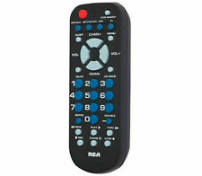 Universal Remote Control 4 Device Controls TV, Cable, VCR, DVD