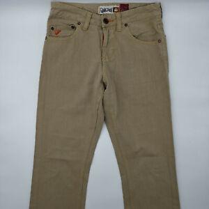 Quiksilver Sequel Classic Twill W28 L28 beige Herren Designer Denim Jeans Hose