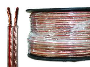 Speaker Cable 12, 14, 16, 18 AWG HIFI, Audio, Home Theatre