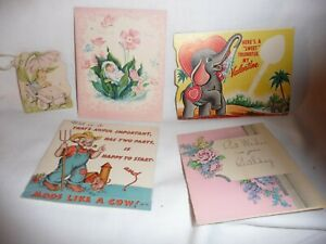 Vintage Lot of Greeting Cards