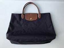Longchamp Le Pliage Cabas in Bilberry