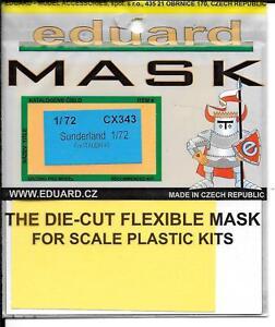 Eduard Sunderland Masques pour Le Italeri Kit En 1/72 Cx 343 Do