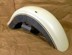 Front Fender Kawasaki VN1500D Classic Pearl White and Gray 1996-1997 #2021
