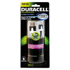 Duracell Sync And Charge Cable Micro USB 6 ft PRO428