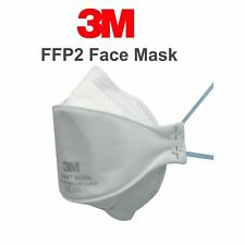 PACK OF 10 - 3M 9320+ SEALED UNVALVED - FAST FREE DELIVERY MADE IN UK - EXP 2025