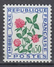 FRANCE TIMBRE TAXE NEUF N° 101 **  fleurs des champs trefle
