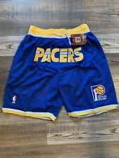 Indiana Pacers Summer City Basketball Team New Shorts Stitched NBA