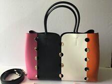 Kate Spade Nicola Mod Dot Large Italian Leather Satchel Bag STUNNING! NWT