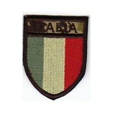 [Patch] SCUDETTO ITALIA softair bassa visibilità cm5x6,5 toppa termoadesiva -450
