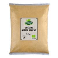 Organic Ginger Powder (Ground) 250g Certified Organic