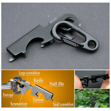 Original Multi Tool Key Clip Hook Keychain Portable Hardware Carabiners New